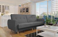 Wersalka Sofa PRL mocna tkanina sprężyna pojemnik