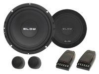 Głośniki samochodowe 16,5 cm BLOW VR-160 150W Zwrotnice wysokotonowe
