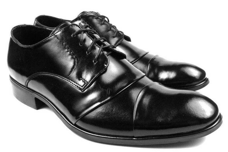 9ba3b008c02065 Wygodne czarne eleganckie buty męskie T33 Rozmiar Obuwia - 38 • Arena.pl