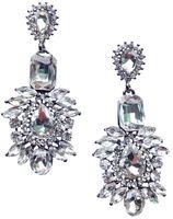 Kolczyki srebrne kryształowe śliczne STYLOWE wieczorowe