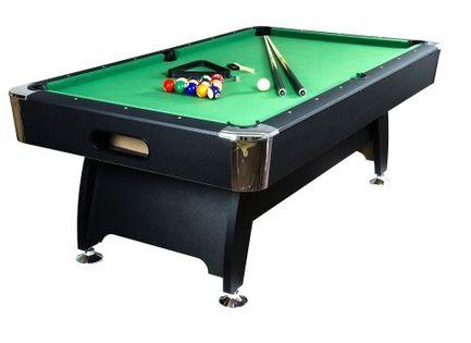 Stół bilardowy pool bilard 8ft + akcesoria bilardowe M07310