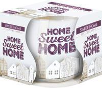 Świeczka zapachowa w szkle AURA BISPOL sweet home