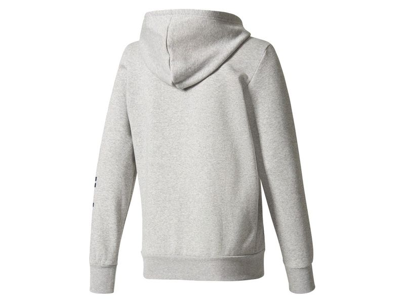 BLUZA ADIDAS LIN ESS FULL ZIP HOODIE | bluzy odzież