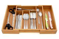 ORGANIZER wkład do szuflady na sztućce ROZSUWANY REGULOWANY