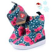 Śniegowce Adidas Slip S76120 Buty Zimowe Boho Dziewczynka 30-34 kozaki zdjęcie 1