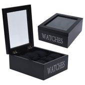 Pudełko etui ORGANIZER do zegarków na zegarki 6x