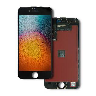 Qoltec Wyświetlacz dotykowy LCD do iPhone 6   ramka czarna