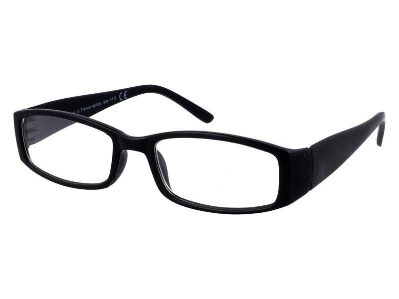 Czarne okulary zastępcze do czytania plusy +3.50 zdjęcie 2