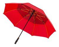 Bardzo mocny i duży parasol sztormowy Falcone, czerwony