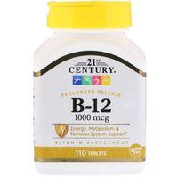 21st Century Witamina B12 1000 mcg 110 tabletek