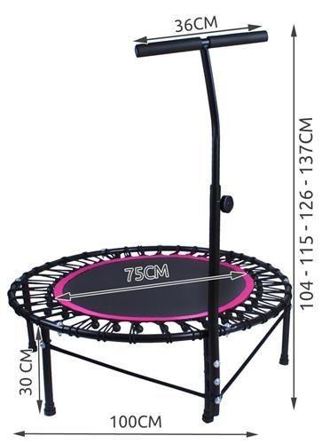 Trampolina z uchwytem do fitnessu zdjęcie 22