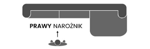 Narożnik MARTIN funkcja spania|pojemnik na Arena.pl