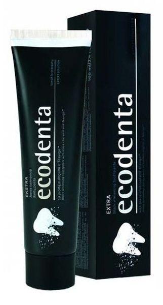 Czarna pasta do zębów na wybielanie zębów ECODENTA na Arena.pl