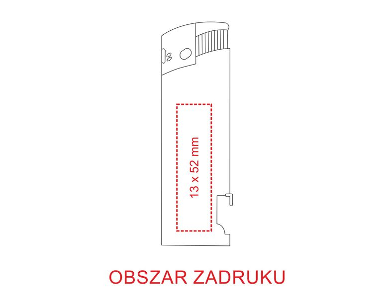 zapalniczka z otwieraczem reklamowa firmowa z nadrukiem UV 100 szt zdjęcie 7