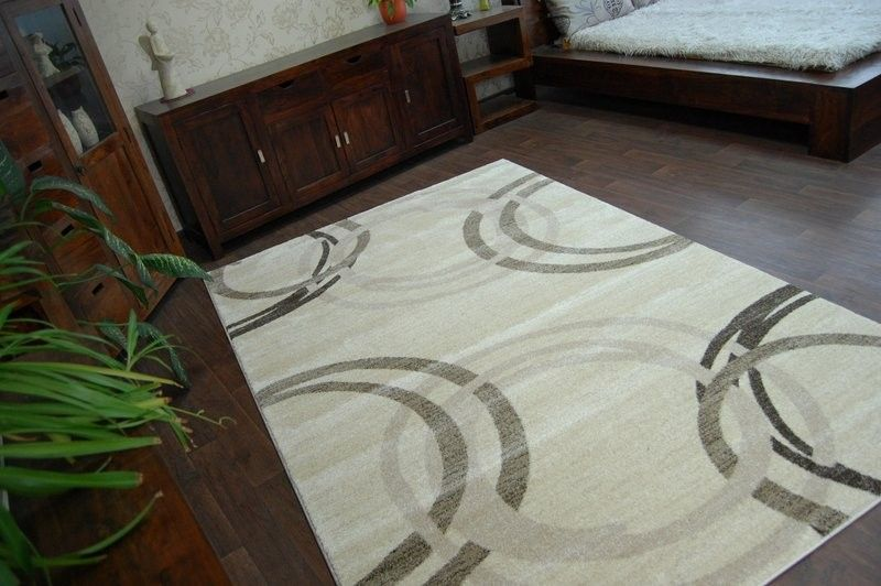 Dywan SHADOW 8645 cream / light beige 60x100 cm na Arena.pl