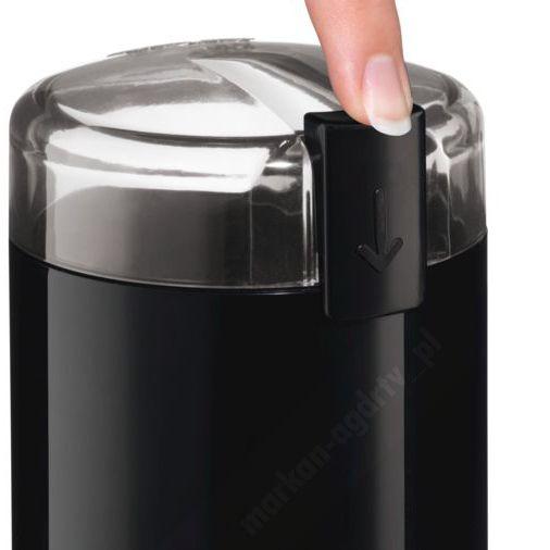 Młynek elektryczny do mielenia kawy Bosch MKM6003 czarny zdjęcie 3