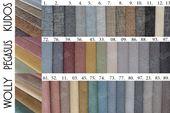 Łóżko tapicerowane STORIE 160x200+ Stelaż zdjęcie 12
