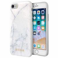 Guess Marble - Etui iPhone 8 / 7 (biały)