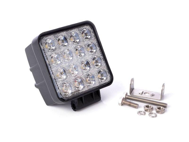 Lampa robocza 16 LED 12V - 24V 48W 16x3W zdjęcie 1