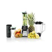 Eta Blender Eta210390000 Activmix Premium Stand Blender, 350 W, Glass, 1 L, Ice Crushing, Black/stainless Steel, 19000 Rpm