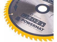 Tarcza widiowa do drewna Powermat (255 mm, 30 mm, 60 zęby)