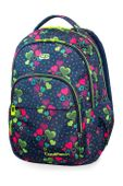 Plecak szkolny CoolPack Basic Plus 27L, Lime Hearts, B03010
