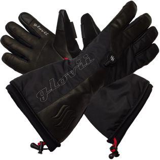 GLOVII, GS9M,  ogrzewane rękawice narciarskie z baterią i ładowarką w zestawie, rozmiar: M