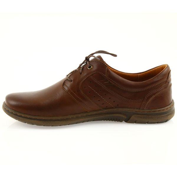 Riko półbuty buty męskie brązowe 870 r.41 zdjęcie 3