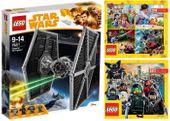 LEGO STAR WARS 75211 MYŚLIWIEC TIE + 2 KATALOGI