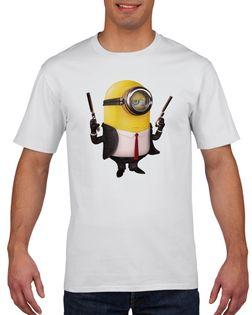 Koszulka męska MINIONKI GRU DAVE BOB KEVIN XL