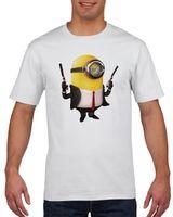 Koszulka męska MINIONKI GRU DAVE BOB KEVIN L