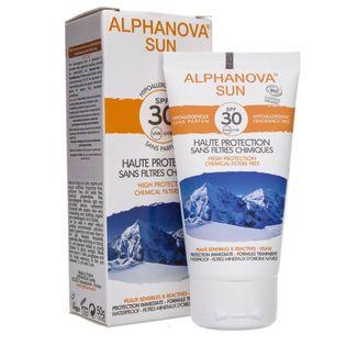 Alphanova Sun BIO Krem przeciwsłoneczny hipoalergiczny filtr SPF30 - 50 g