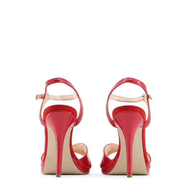 e704326eb92e29 ... Made in Italia sandały damskie szpilki czerwony 36 zdjęcie 2 ...