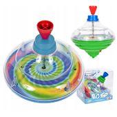 Bączek Bąk kręcący się światełka LED Tradycyjna zabawka Zielony Y234Z
