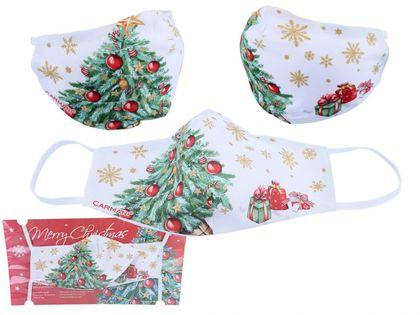 Maseczka ochronna - Świąteczna dekoracja (CARMANI)
