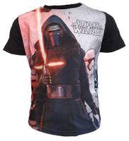 T-Shirt Star Wars 6Y r116 Licencja Disney LucasFilm (QE1029.BLACK.6Y)