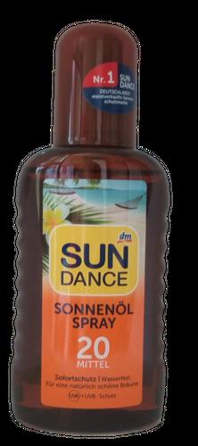 SUNDANCE Sonnenolspray olejek ochronny filtr 20 na Arena.pl