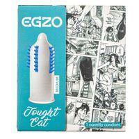 Egzo Tought Cat Prezerwatywa z wypustkami - 1 sztuka