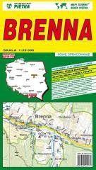 Brenna 1:20 000 plan miasta PIĘTKA