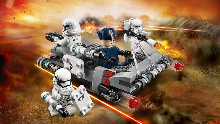 Klocki LEGO 75166 Star Wars Śmigacz Transportowy zdjęcie 2