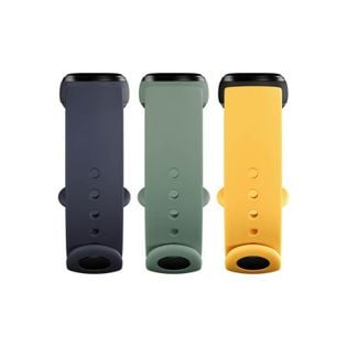 Xiaomi Mi Smart Band 5 Strap (3-Pack) Navy Blue / Yellow / Mint Green
