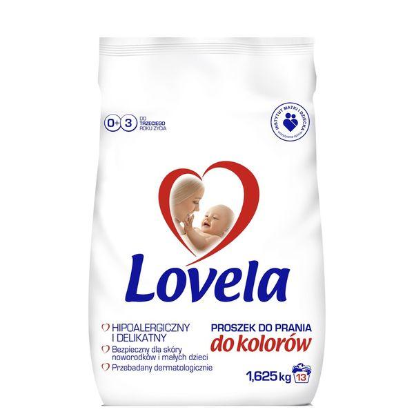 Lovela Proszek do prania kolor dla niemowląt 1,625kg zdjęcie 1
