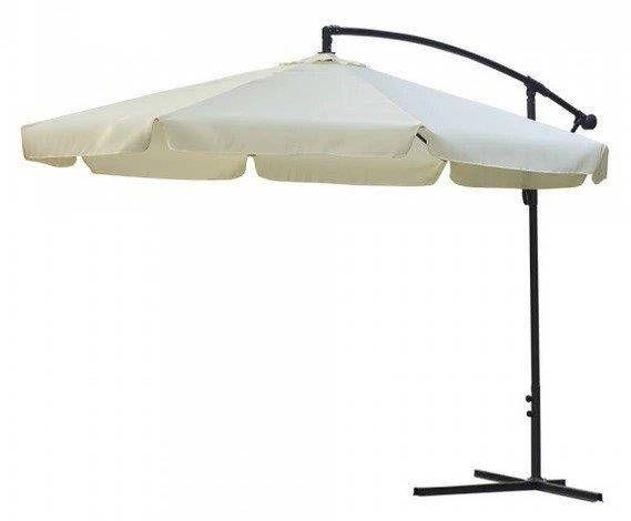 Duży parasol ogrodowy składany z falbanką 350cm na Arena.pl