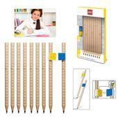 LEGO 9szt ołówków OŁÓWKI KOMPLET KLOCKI
