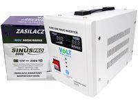Inverter 12-230V 800VA SinusPRO 800E zasilacz awaryjny