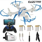 DRON Pioneer EVOSTAR  LH-X15WF z Kamerą WiFi 3Aku okulary 3D Z13G