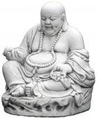 Figura ogrodowa betonowa figura buddyjska 30cm