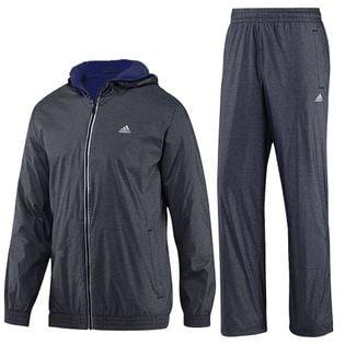Komplet dresowy Adidas TS WARM 2 męski dres ocieplany sportowy treningowy spodnie + bluza XS/S