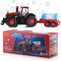 Zabawkowy Traktor Robiący BAŃKI MYDLANE dla dzieci U219