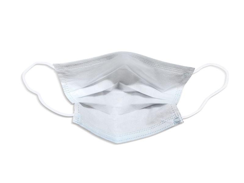 Higieniczna 3-warstwowa maska ochronna, maseczka antywirusowa 25 szt. zdjęcie 5
